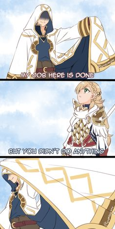 Fire Emblem Heroes || That feel when you join the royal Askr siblings on their quest to save the world but cannot be a playable unit yourself