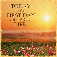 New day quote via www.Facebook.com/JoyEachDay