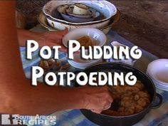 South African Recipes | POT PUDDING (POTPOEDING) South African Recipes, Love Food, Recipies, Food And Drink, Pudding, Sweets, Foods, Snacks, Cakes
