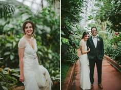 Adore this bride's Jenny Packham wedding dress