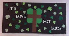 christian bulletin boards for st. patricks day | Bulletin board idea for March