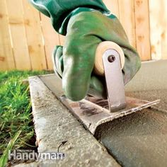How to Finish Concrete