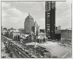 Nicholas Nixon, View of Copley Square, Boston, 1974.