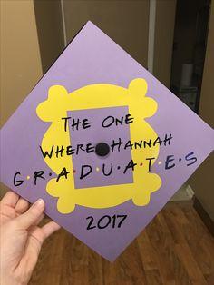 Friends graduation cap college