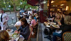 It's a Paris cafe scene along Rittenhouse Square at Parc, amping up the glitz quotient to new levels. DAVID M WARREN / Staff Photographer