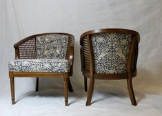 Cane back chairs, Barrel chair, Cane chair redo, R Chair Redo, Buy Chair, Chair Makeover, Furniture Makeover, Old Chairs, Vintage Chairs, Dining Chairs, Desk Chairs, White Chairs