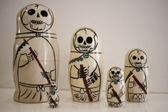 grim reaper russian dolls by suicoke.