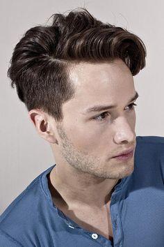 Frisur sehr hohe stirn