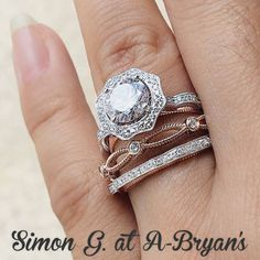 mixed metals and a unique halo by SIMON G at A-Bryan's