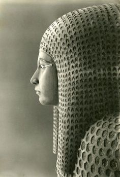 Outer coffin of Queen Merytamun (M10C 119) | Photograph by Harry Burton ~ 1929 ~ Archives of the Egyptian Expedition ~ Department of Egyptian Art.