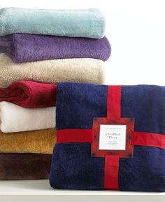 A big, fluffy blanket!