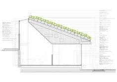Em Detalhe: Cortes Construtivos de Telhados Verdes,Centro Creación Joven Espacio Vias -  Estudio SIC