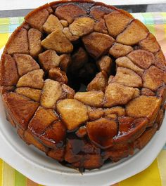 Monkey Bread....at one point in time I called these monkey lungs, lol.