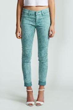 Aurelia 7/8 Turn Up Skinny Jeans