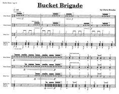 Bucket Beats by Chris Crockarell & Chris Brooks| J.W. Pepper Sheet Music