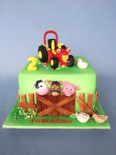 Tractors 383931936986286356 - Tractor Tom – cake by Layla A Source by