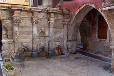 Fontana Rhomondi, Rethymno by Pilgrimthomas