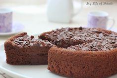 My Life of Details (Mi Vida de Detalles): Bizcomousse de Chocolate (sin harina)
