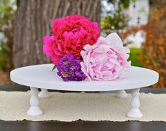 10 inch Cake Stand or Cupcake Stand by RitaMarieWeddings on Etsy, $24.00