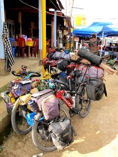 cycling adventures - Looks like something Bondi Buddha might do : )