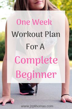 7 Day Workout Plan For Beginners Trying to get into a workout routine, but can't figure out where to start? Use this guide filled with one week of workouts for complete beginners. Home workouts, gym workouts, partner workouts. One Week Workout, 7 Day Workout Plan, Gym Workout Plan For Women, Weekly Workout Plans, Workout Planner, Everyday Workout, Workout Challenge, Fitness Workouts, Fun Workouts