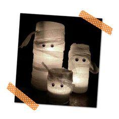 Schaurige Mumien-Lichter