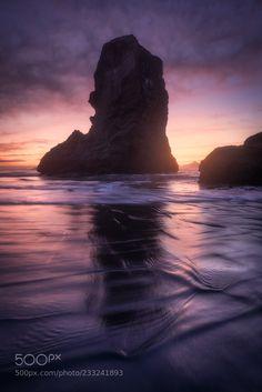 Bandon Beach Sunset (Daniel F. / Rosenheim / Germany) #Canon EOS 5D Mark IV #landscape #photo #nature