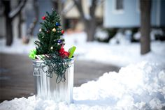 Decorative money-saving ways to recycle this holiday season