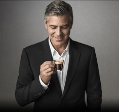 It's never about the 'age', it's always about the 'class'. Classicity Personified #George Clooney #GeorgeClooney