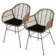 Outdoor Chairs, Dining Chairs, Outdoor Furniture, Outdoor Decor, Ste Marguerite, Ideas Terraza, Garden Chairs, Take A Seat, Bed And Breakfast
