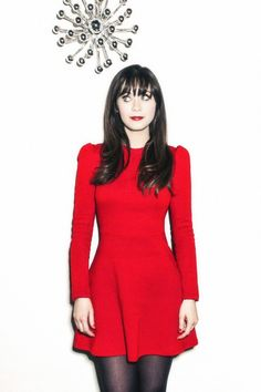 Zooey Deschanel--- Love Her makeup and her style! Vintage Fashion:: Retro…
