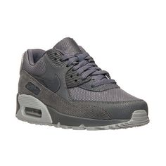 Women's Nike Air Max 90 Premium Running Shoes ($120) ❤ liked on Polyvore