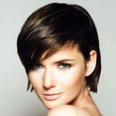 Hmmmm, beautiful isn't she? Want to be like her? Try this short haircuts for fine hair now..