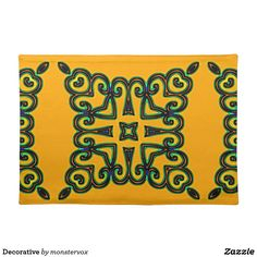 Decorative Placemat #Decorative #Ornament #Design #Home #Decor #Placemat