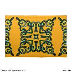 Decorative Placemat #Decorative #Ornament #Design #Home #Decor #Placemat