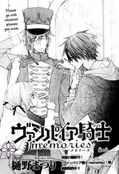 Vampire Knight - Takuma, Rima and Shiki ♡