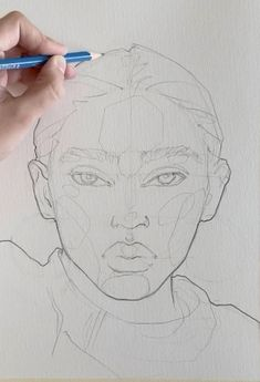 Educational Drawing sketching It Sketching portrait by Polina Bright Art Sketches art sketches Bright drawing Educational Polina Portrait Sketching Art Drawings Sketches Simple, Pencil Art Drawings, Cool Drawings, Portrait Sketches, Realistic Drawings, Sketch Painting, Sketch Art, Face Sketch, Arte Sketchbook