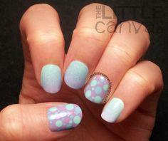 The Little Canvas: Springy Gradient Nails