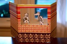 Fairy Dust Teaching Kindergarten Blog: Make a File Folder Puppet Theater!--Could be good Christmas present for the kids in our Fairy Tales class!