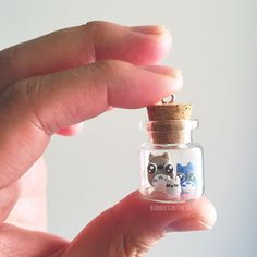 He mencionado alguna vez cuál es mi personaje favorito de #studioghibli ?   #kawaii #handmade #handmadejewelry #cute #totoro #myneighbortotoro #mivecinototoro #ghibli #bottle #tiny #miniature #clay #sculpey by bunniesinthesky