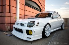 Subaru WRX Wagon at Another Level Car Show. Chicago 2012