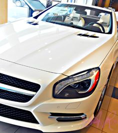 Mercedes-Benz SL550 #MercedesBenz #MBofSCS