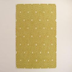One of my favorite discoveries at WorldMarket.com: Golden Life Hooked Indoor Outdoor Area Rug