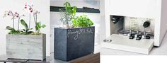 """This self-watering and self-feeding hydroponic planter. """"No longer will you hold the title of professional plant killer."""" ☽k♕•☾It's... so... beautiful. *sheds a tear*☽•♕s☾"""