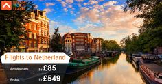 Book cheap flights from London to Netherlands with Dream World Travel.Find Cheap Flight Deals on all major airlines.  #Cheap #Flights #To #Netherlands #CheapFlights #To #Europe