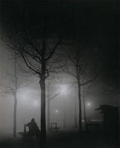 Brassaï. 1930-е. Avenue Observatoire. Paris.