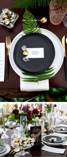 Botanical Vibes for a Chocolate Themed Brunch