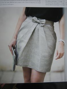 Grains de couture pour hommes et femmes Skirt Outfits, Casual Outfits, Pants Pattern, Mode Style, Skirt Fashion, Diy Clothes, Mini Skirts, Rock, Womens Fashion
