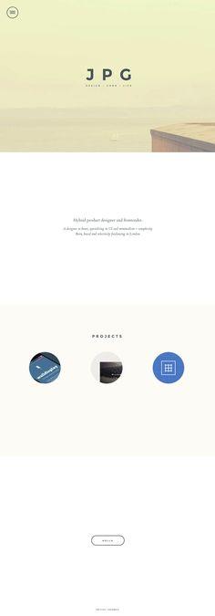 JPG - Clean Minimal Web Design