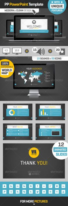 Nightfurry Professional Powerpoint Templates. Stylish Powerpoint